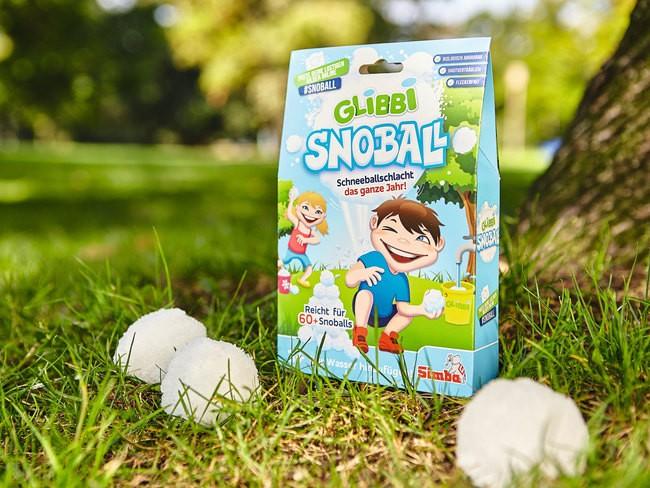 Glibbi Snoball – zabawa śnieżkami latem