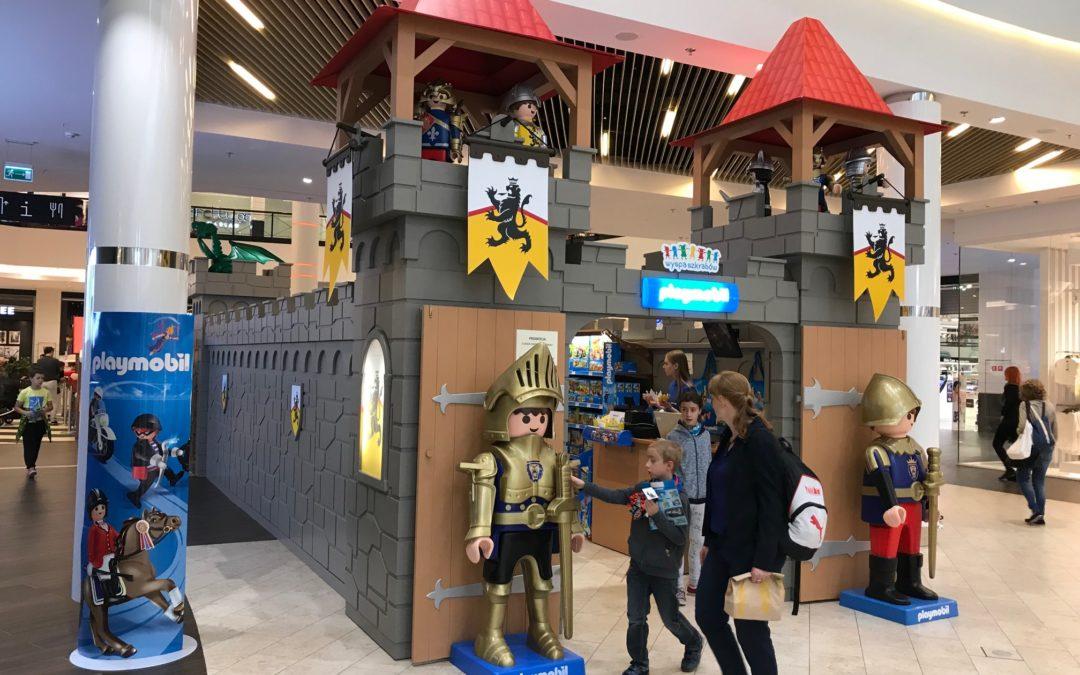 Wyjątkowy sklep i wystawa PLAYMOBIL